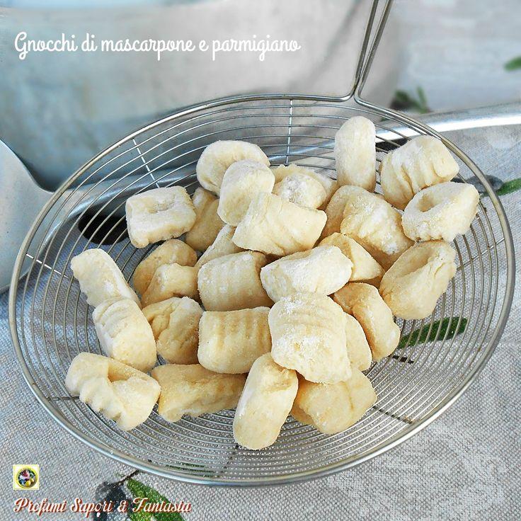 Gnocchi di mascarpone e parmigiano ricetta