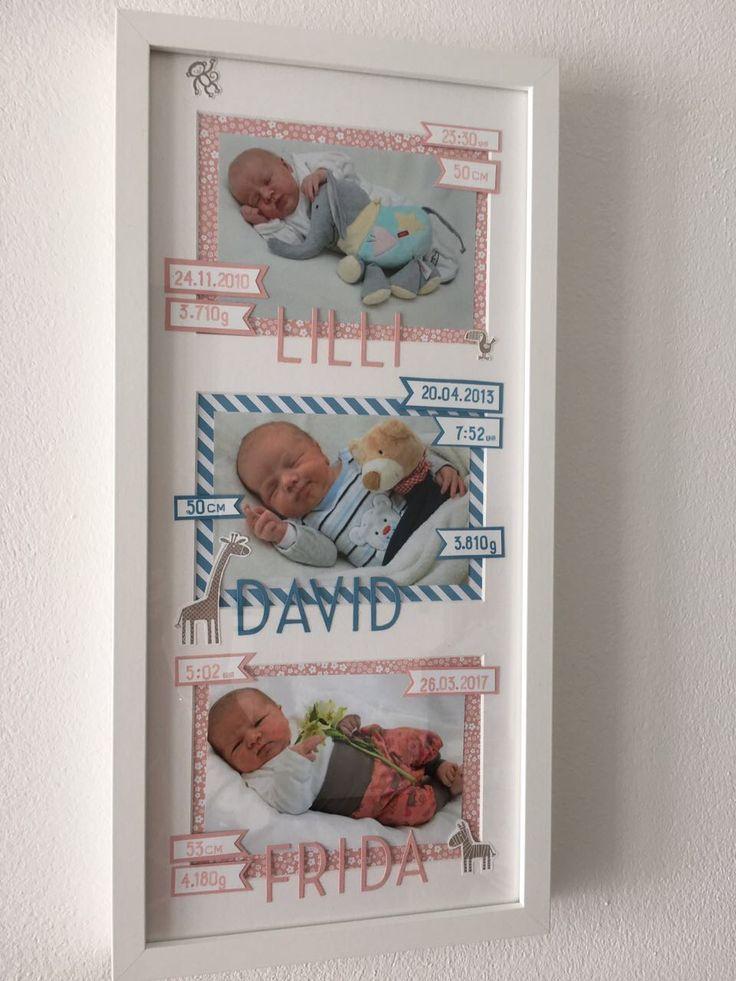 DIY RAHMEN WORKSHOPS TOLLES GESCHENK ZUM BABY ODER ZUR TAUFE Paperlovedesign