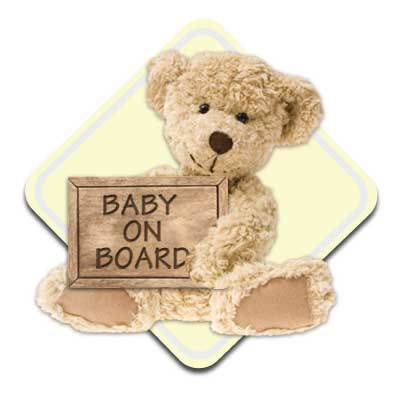 Create your own Baby on Board sign for a chance to win $10,000 for a Baby Room Makeover from 21st Century Auto Insurance #nursery #ad #babyonboard
