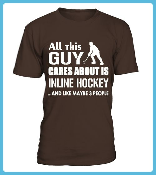 Inline Hockey Shirt Care About Inline Hockey Tshirt (*Partner Link)