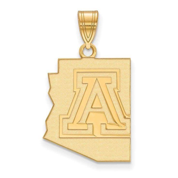 14ky LogoArt University of Arizona Large Pendant