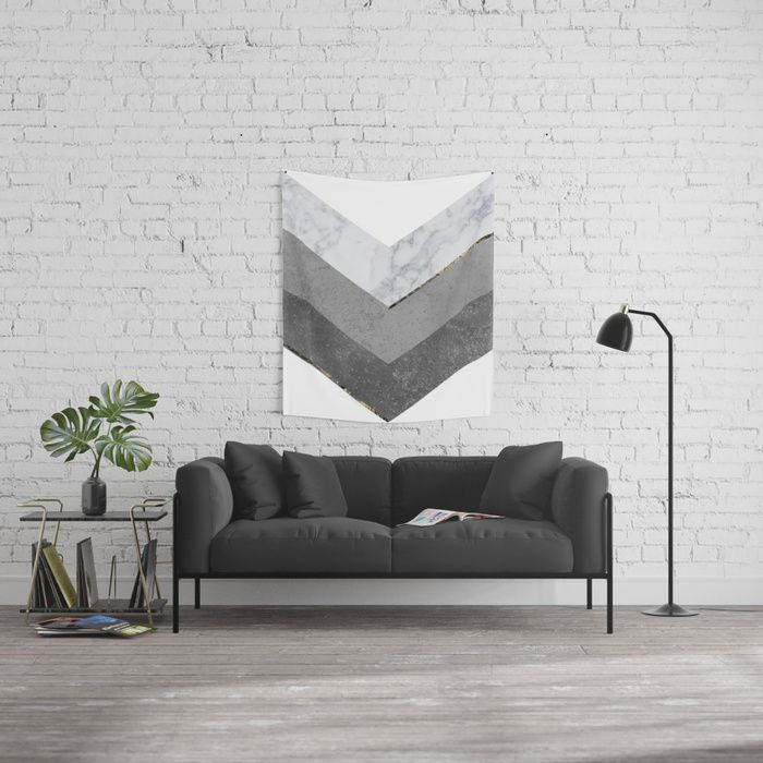 Marble Gray Copper Scandinavian Tapestry @society6 . copper, black, gold, chevron, pattern, geometry, concrete, geometric, minimalist, seamless, stripes, scandinavian, nordic, mid century, wall art, home decor, scandi design, tapestries, duvet cover, interior design, bedroom, living room, dorm,society6