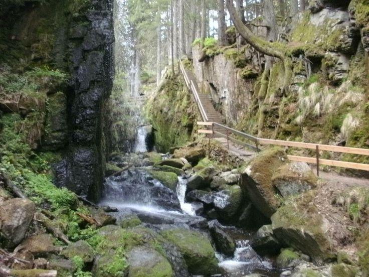 Wasserfälle in Menzenschwand, Schwarzwald