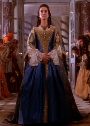 Queen ,ballroom gown- The Man in the Iron Mask