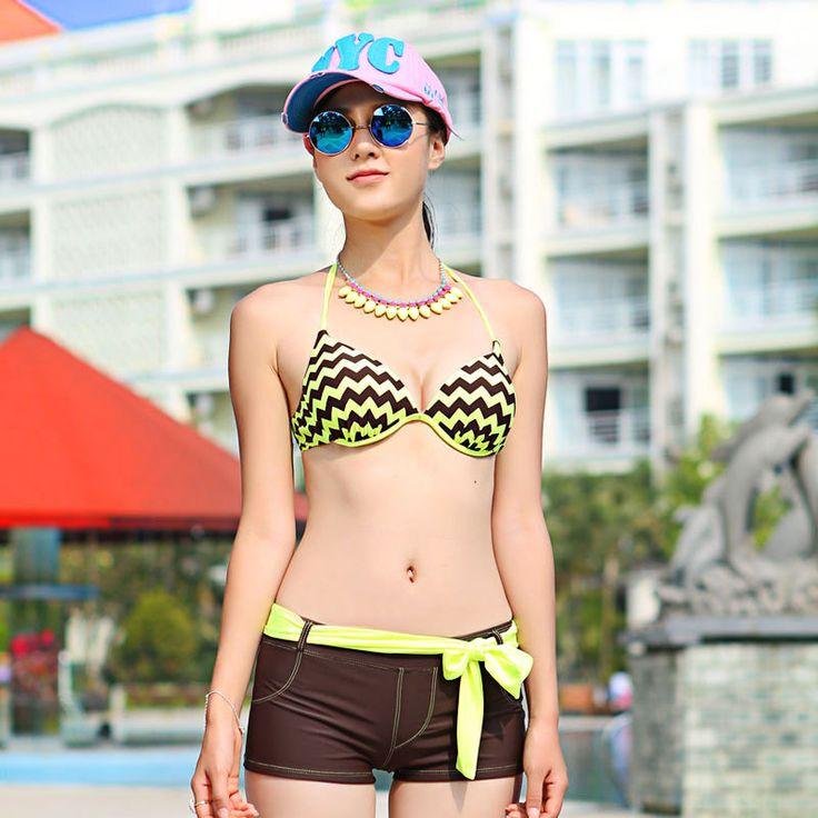 Plus Size Swimwear Womens Cheap Bikinis Sexy Swim Suit Women 2017 Ladies 2 Piece Korean Underwire Push Up Biquini Feminino