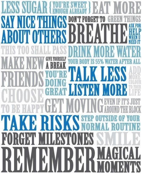 Breathe.Remember This, Subway Art, Years Resolutions, Quote, Check Lists, Life Lessons, Motivation Mondays, Weights Loss, New Years