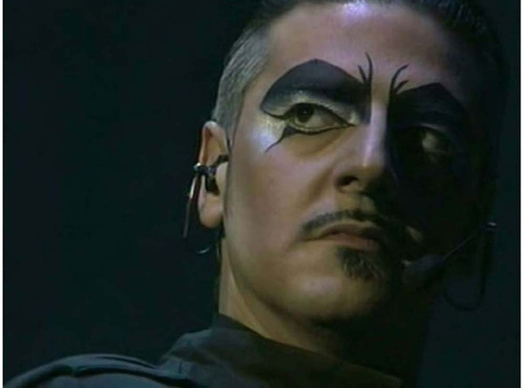 Vittorio Matteucci as Frollo, in the italian version of Notre Dame De Paris