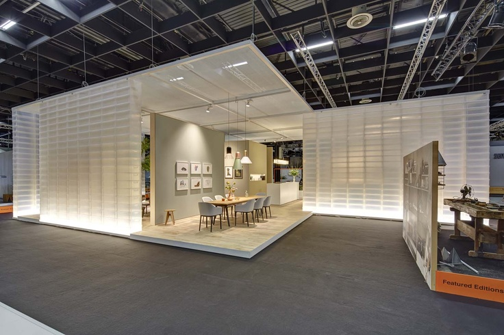 Exhibition Booth Furniture : Vitra booth at the imm cologne hall