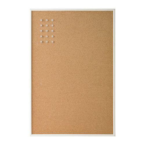 VÄGGIS Tablón de anuncios IKEA Puede colgarse en horizontal o vertical: tú decides lo que se adecua mejor a tu espacio.