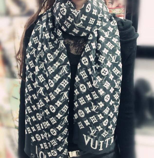 1pc/lot Free Shipping ,Letter Printed silk scarf women 180x70cm twill neckerchief Chiffon scarf Fashion Scarves tippet for Women $6.98