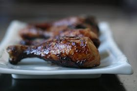 Week of Menus: Balsamic Drumsticks: I want to be a rockstar