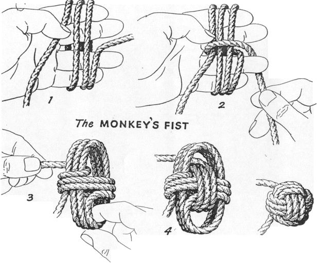 Picture of the original monkey's fist