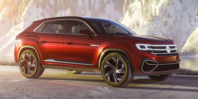 2020 Volkswagen Atlas Cross Sport To Get New Tech Will Share Some With Full Vw Lineup Volkswagen Volkswagen Up Classic Cars