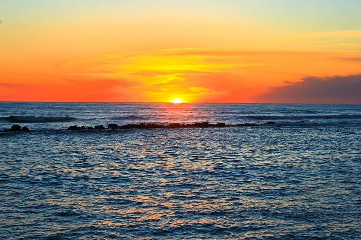 Sunset at Acajutla, Sonsonate, El Salvador ... definitely on my bucket list.    by David Saigne, via 500px