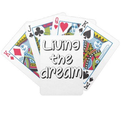 Dream Bicycle Playing Cards - #customizable create your own personalize diy
