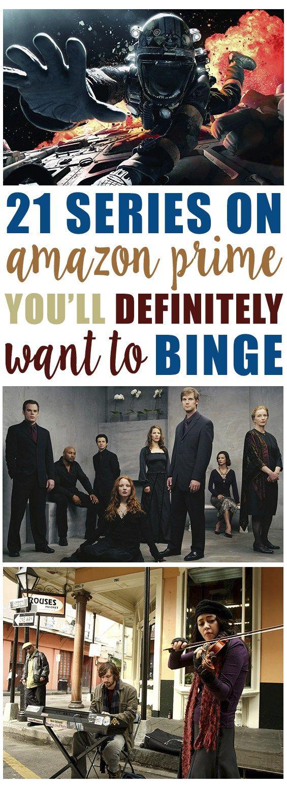 Shows to binge on Amazon Prime!