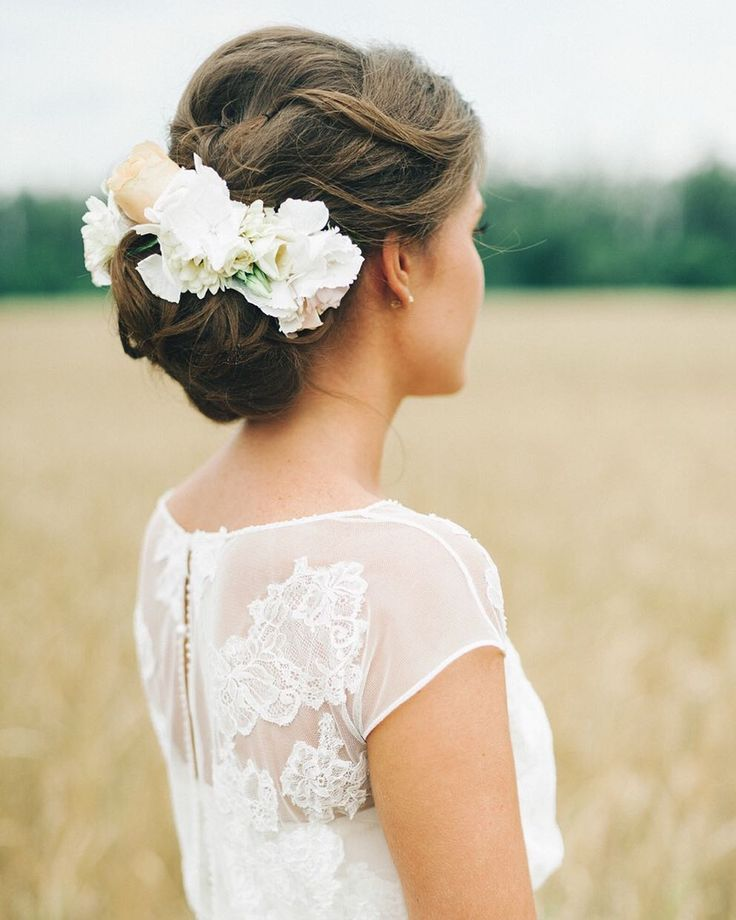beautiful lace detail and we're living for the floral hair accessory! | photo @mlevitska event design @floraldreams_team floral design @juliachaschina wedding invitations @annavernova #onRuffled #ruffledblog #weddingideas #weddinghair #hair #bride #bridal #brides #hairaccessories #weddingdress #weddinggown #laceweddingdress #weddingphotography #weddingphotographer #weddingphotographers #weddingfashion #weddingstyle by ruffledblog