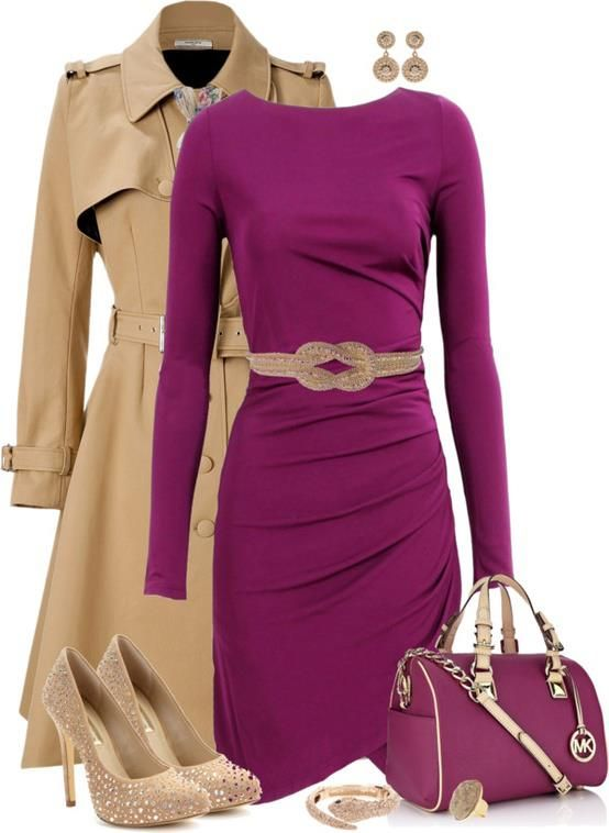 This Set Created By Stylish Eve. I love this color combo :-)