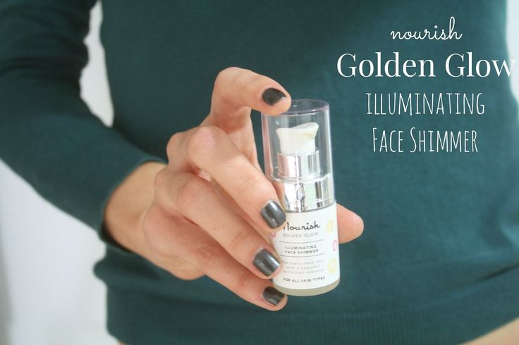 ♥ NOURISH GOLDEN GLOW ILLUMINATING SHIMMER