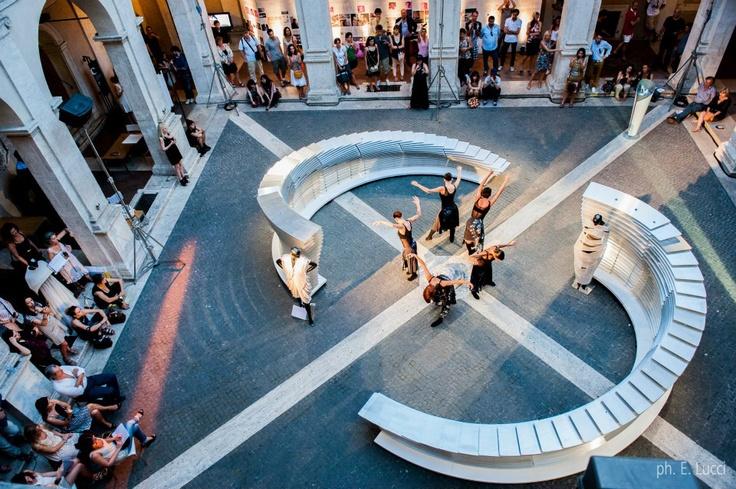 NU:S installation at Chiostro del Bramante | Roma