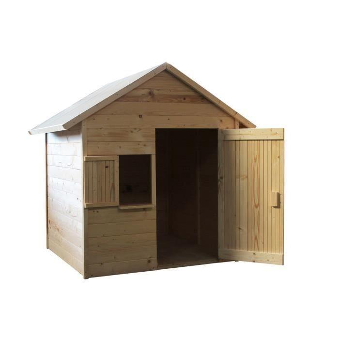 MAISONNETTE EXTÉRIEURE SOULET Maison Enfant Cabane en bois IGOR