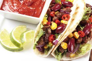 Фото к рецепту: Тако рецепт ☝ Мексиканская кухня
