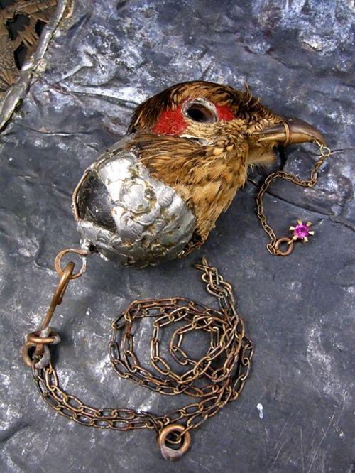 ネックレス・ペンダント, マンタム    錬金術師の為の装飾品 (鳥頭)