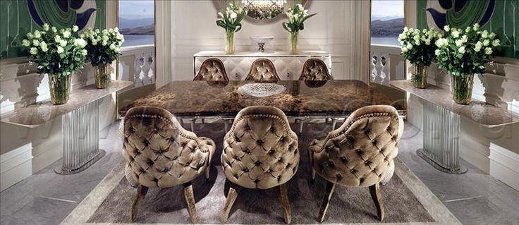 Композиция столовые комнаты 42, производитель CORNELIO CAPPELLINI, коллекция OF INTERIORS – элитная мебель из Италии в салоне «ARREDO»