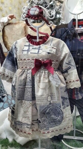 Vestido colección Navío.