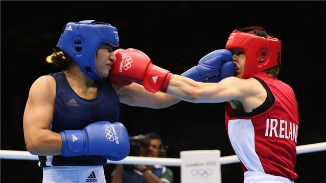 Katie Taylor delights ExCeL crowds - London 2012 Olympics