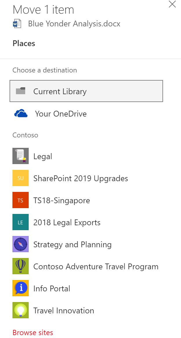 Now – move files anywhere in Office 365, SharePoint and OneDrive - Microsoft Tech Community
