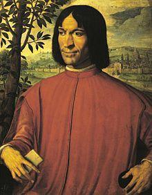 Laurent de Médicis, Laurent le magnifique, homme d'état florentin.