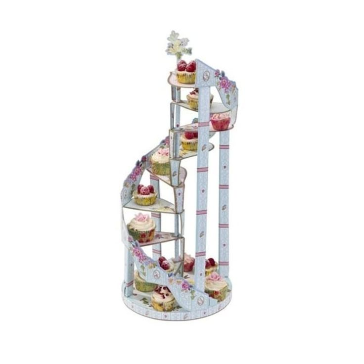 Spiral Staircase Cake Stand for Afternoon Tea or Party