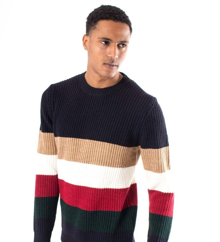Multi-stripes Sweater - BL.11