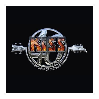 "L'album dei #Kiss intitolato ""Kiss 40 Years (Decades Of Decibles)"" su doppio CD."
