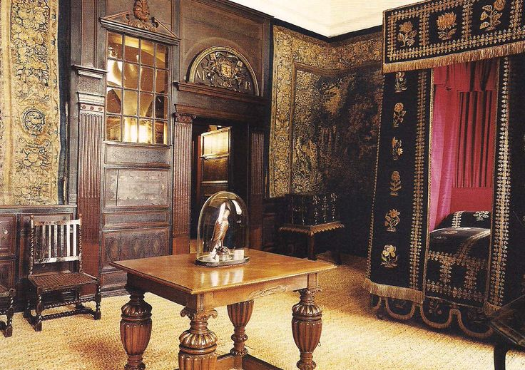 The Mary Queen of Scotts Room at Hardwick Hall