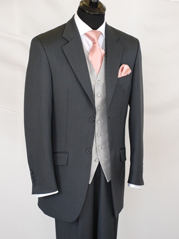 Jon's and grooms mens suits... replace the pink with blue