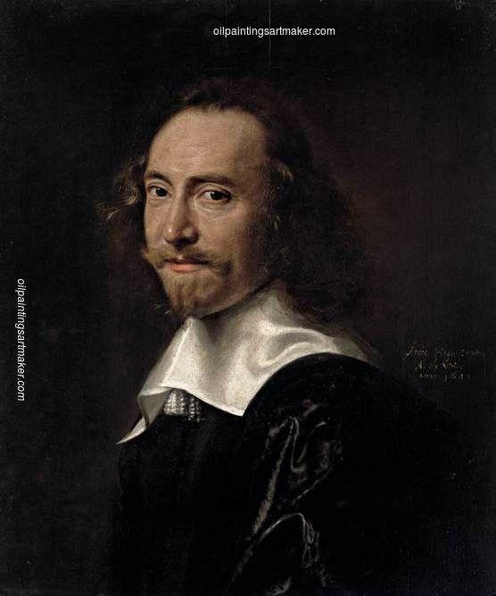 Abraham de Vries Portrait of a Man, painting Authorized official website