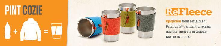 Klean Kanteen Accessories: ReFleece Pint Cup Cozie
