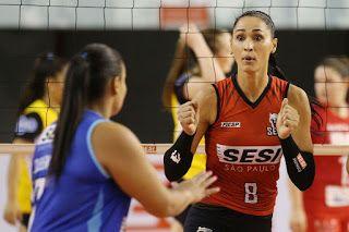 Blog Esportivo do Suíço:  Sesi vence São Bernanrdo na estreia da Superliga feminina de vôlei