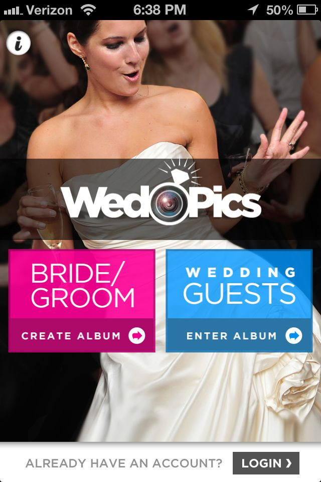 wed pics app!!! sooo cool!!