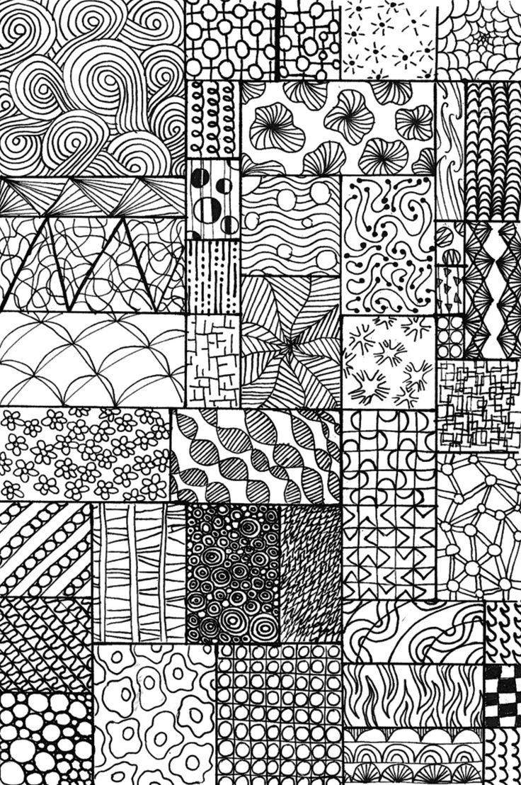 24 best zentangles images on pinterest zentangle for Drawing patterns for beginners