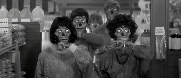 They Live (1988, John Carpenter) / Cinematography by Gary B. Kibbe