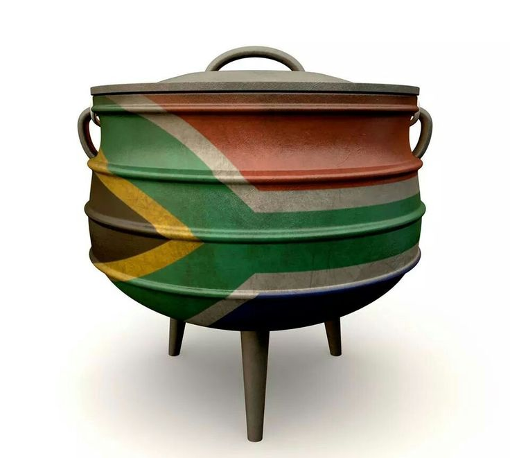 """Volunteer with Via Volunteers in South Africa and try some delicious potjiekos! Potjiekos is literally translated as """"small pot food"""" and is a stew prepared outdoors. It is traditionally cooked in a round, cast iron, three-legged pot, the potjie, descended from the Dutch oven brought from the Netherlands to South Africa in the 17th century and found in the homes and villages of people throughout southern Africa."""