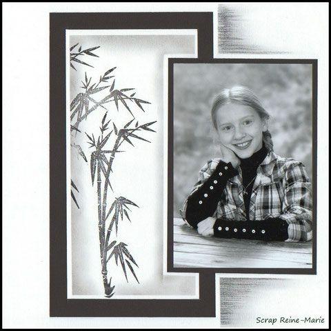"""Pages """"Photo unique"""" - LE SCRAP DE REINE-MARIE"""
