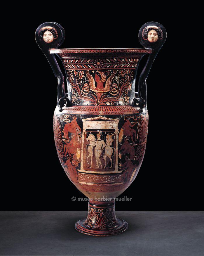 17 meilleures id es propos de vase grec sur pinterest for Vase antique romain