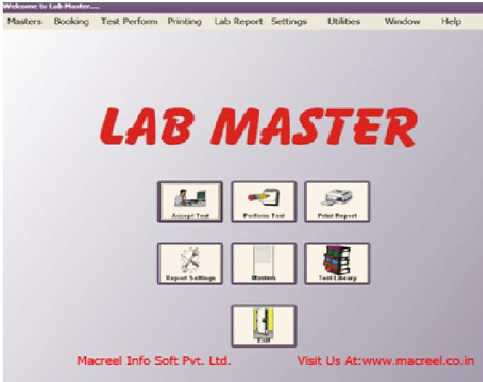 Lab Master is a Pathology Reporting Software developed by Macreel InfoSoft Pvt Ltd, Delhi NCR, which provides the easiest Reporting tool for Pathology Lab and Diagnostic Laboratories. This software provides a platform to efficiently manage patient reports, administrative activities and commercial records of a pathology lab.