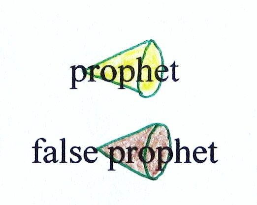 "Key Word Symbol – ""prophet"" and ""false prophet"""