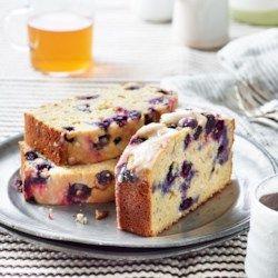 Replace wheat flour w a GF blend?   Blueberry-Lemon Ricotta Pound Cake - EatingWell.com