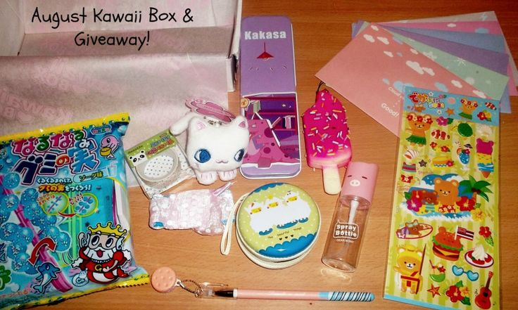 Check out our review (and giveaway) on the Aug Kawaii Box here:  http://www.outback-revue.com/kawaii-box-august-review-and-giveaway/